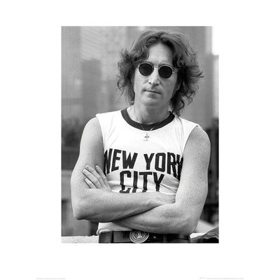 "Art Group John Lennon ""NYC - Bob Gruen"" Photographic Print"