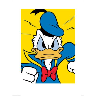 Art Group Donald Duck Mad Graphic Art