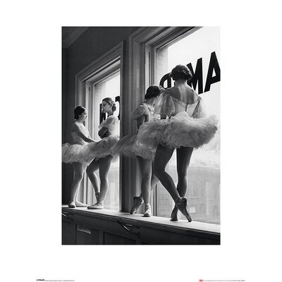 Art Group Time Life - Ballerinas in Window Photographic Print