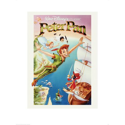 Art Group Peter Pan Flying Vintage Advertisement