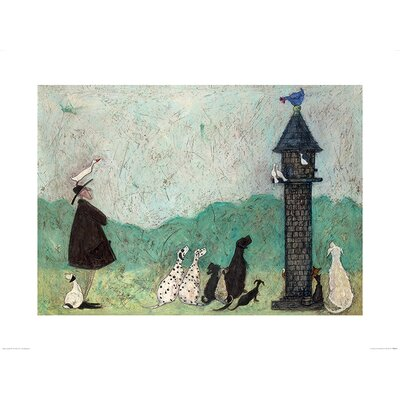 Art Group An Audience with Sweetheart by Sam Toft Art Print