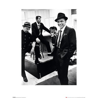 Art Group Time Life - Dean Martin, Sammy Davis Jr. and Frank Sinatra Photographic Print