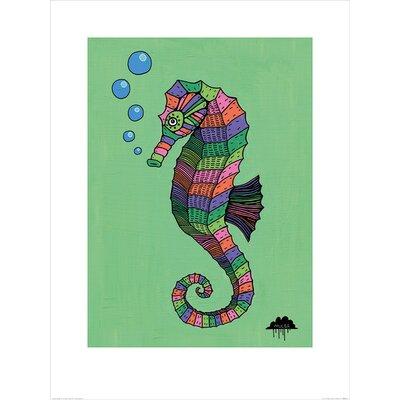 Art Group Mulga, Sarah the Magical Seahorse Graphic Art