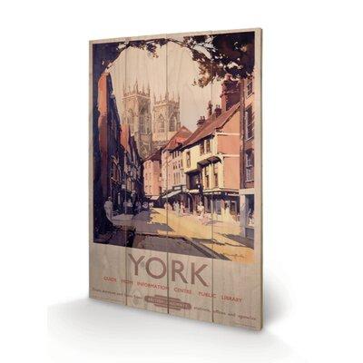 Art Group York Vintage Advertisement Plaque