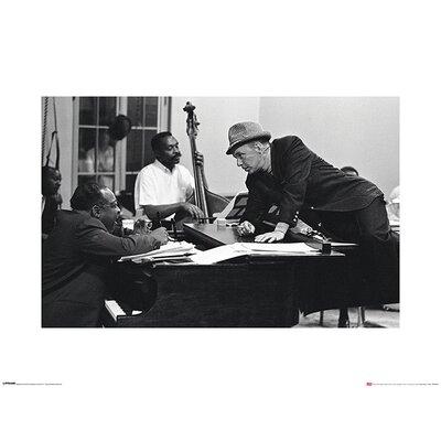 Art Group Time Life - Frank Sinatra Piano Photographic Print