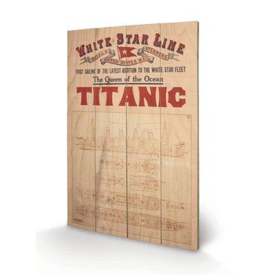 Art Group Titanic Graphic Art Plaque