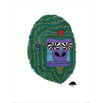 Art Group Mulga, Herbert the Hypno Ape Graphic Art