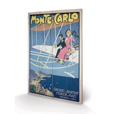 Art Group Monte Carlo Vintage Advertisement Plaque