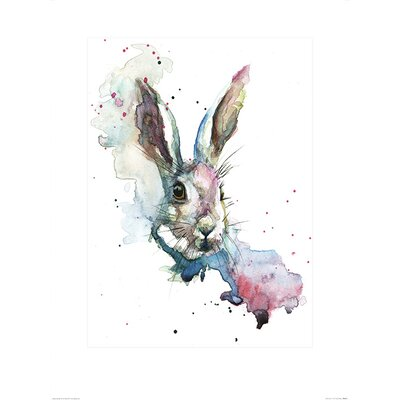Art Group March Hare by Sarah Stokes Art Print