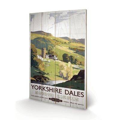 Art Group Yorkshire Dales Vintage Advertisement Plaque