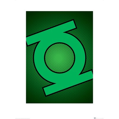 Art Group DC Comics Lantern Symbol Graphic Art