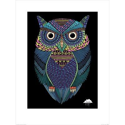 Art Group Mulga, Michael the Magical Owl Graphic Art