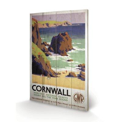 "Art Group Cornwall ""5"" Vintage Advertisement Plaque"