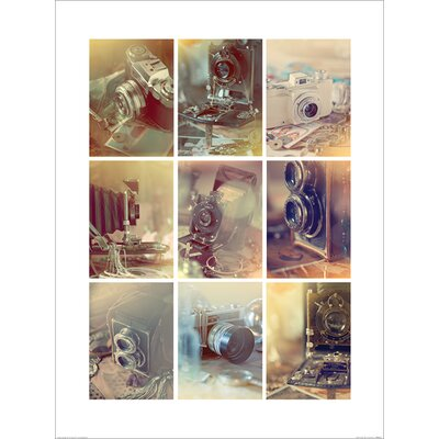 Art Group Vintage Cameras by Ian Winstanley Photographic Print
