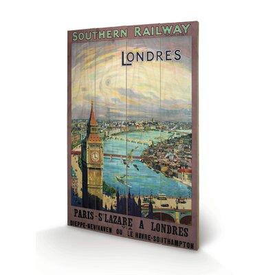 """Art Group London """"10"""" Vintage Advertisement Plaque"""