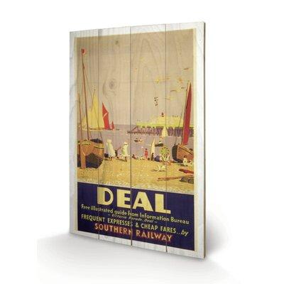 Art Group Deal Vintage Advertisement Plaque
