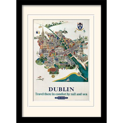 Art Group Dublin #1 Framed Vintage Advertisement