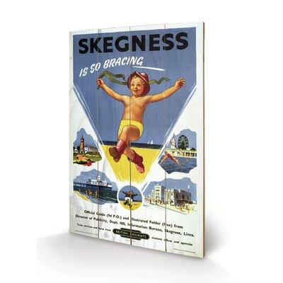 Art Group Skegness #1 Vintage Advertisement Plaque