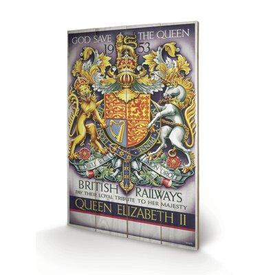 Art Group God Save the Queen Vintage Advertisement Plaque