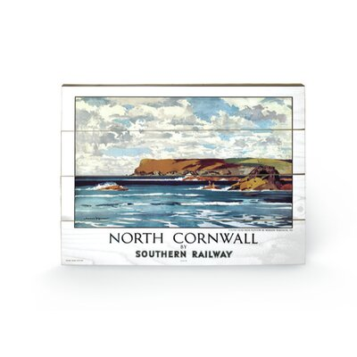 Art Group Cornwall #6 Vintage Advertisement Plaque