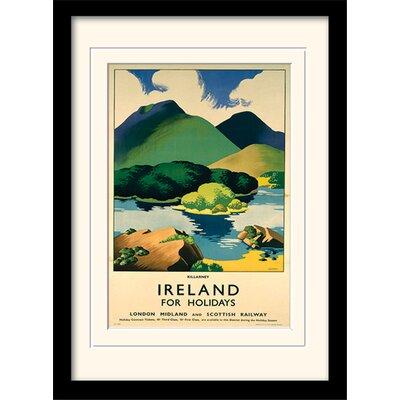Art Group Killarney Framed Vintage Advertisement