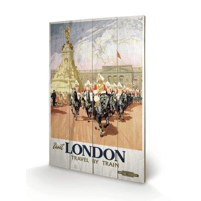 """Art Group London """"12"""" Vintage Advertisement Plaque"""