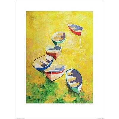 Art Group Light At Noon by Hugh Cushing Art Print