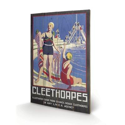 Art Group Cleethorpes #2 Vintage Advertisement Plaque