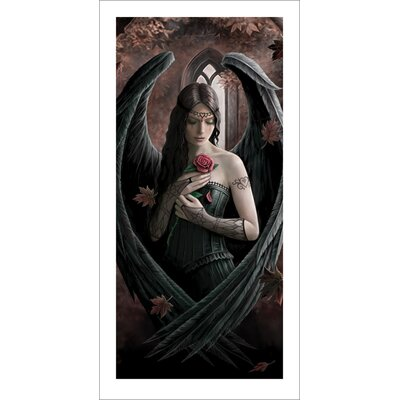 Art Group Angel Rose by Anne Stokes Graphic Art
