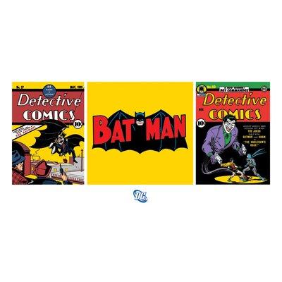 Art Group Batman Triptych Poster Vintage Advertisement