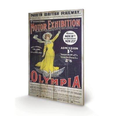 Art Group London Olympia Vintage Advertisement Plaque
