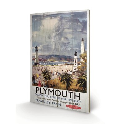 Art Group Plymouth Vintage Advertisement Plaque