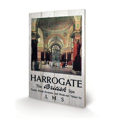 """Art Group Harrogate """"3"""" Vintage Advertisement Plaque"""