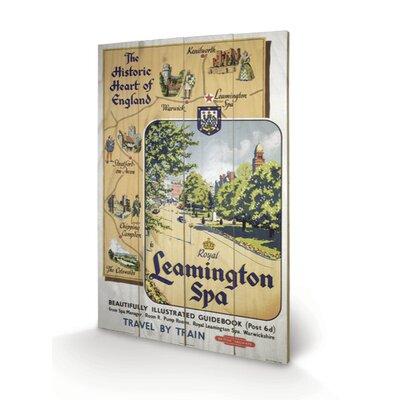 Art Group Leamington Spa Vintage Advertisement Plaque
