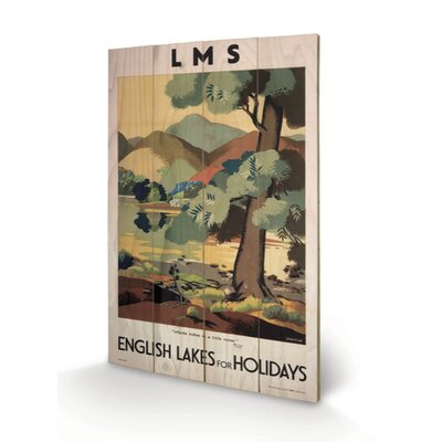 Art Group English Lakes for Holidays Graphic Art Plaque