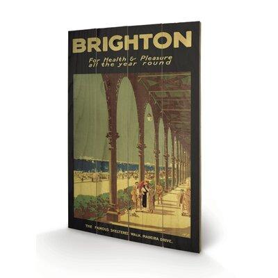 Art Group Brighton Vintage Advertisement Plaque