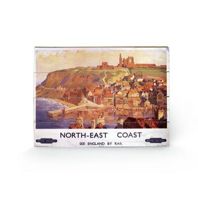 Art Group North East Coast Vintage Advertisement Plaque