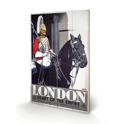 """Art Group London """"3"""" Vintage Advertisement Plaque"""