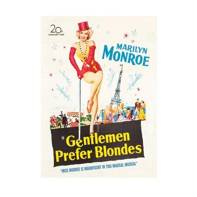 Art Group Marilyn Monroe Gentlemen Prefer Blondes Vintage Advertisement