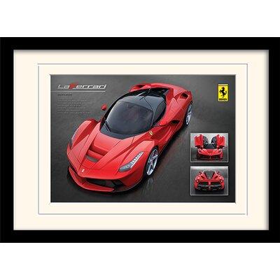 Art Group Ferrari LaFerrari Framed Vintage Advertisement