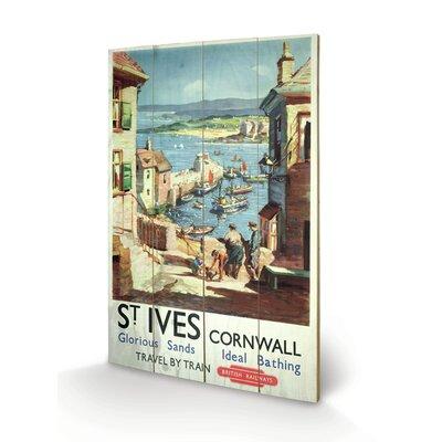"Art Group Cornwall ""8"" Vintage Advertisement Plaque"
