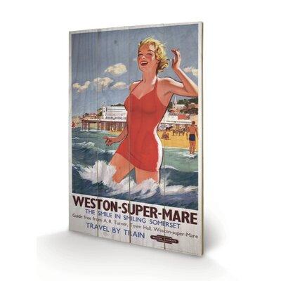 Art Group Weston - Super-Mare Vintage Advertisement Plaque