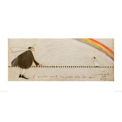Art Group I Would Wait My Whole Life for You by Sam Toft Art Print