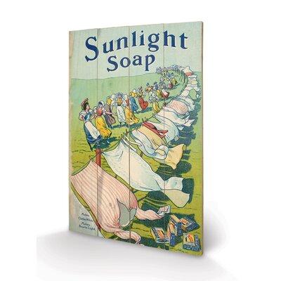 Art Group Sunlight Soap Vintage Advertisement Plaque