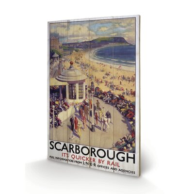 Art Group Scarborough #1 Vintage Advertisement Plaque