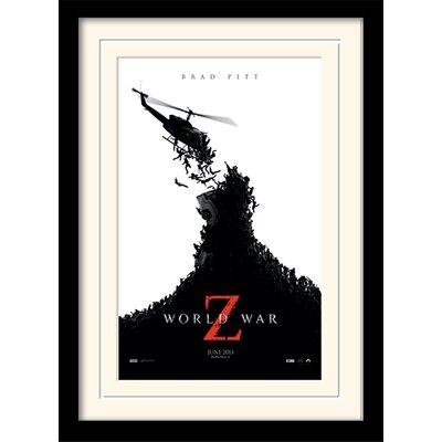 Art Group Teaser - World War Z Framed Vintage Advertisement