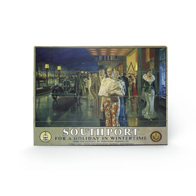 Art Group Southport #1 Vintage Advertisement Plaque