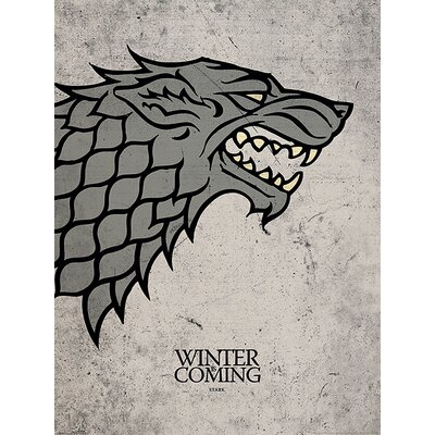 Art Group Game of Thrones Stark Graphic Art