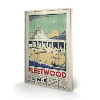 "Art Group Fleetwood ""2"" Vintage Advertisement Plaque"