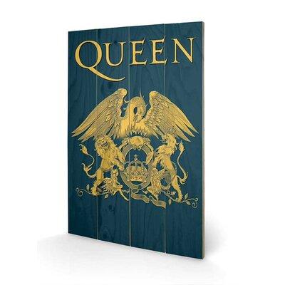 Art Group Queen, Crest Graphic Art Plaque